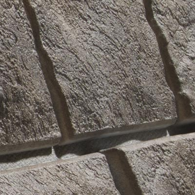 Closeup of NovikStone PHC in Shadow Gray